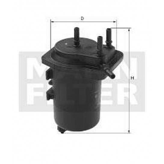 filter paliva mann WK 939/6