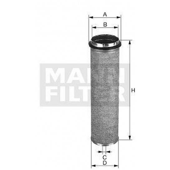 filter vzduchový mann CF 2100/1