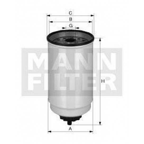 filter paliva mann WK 880