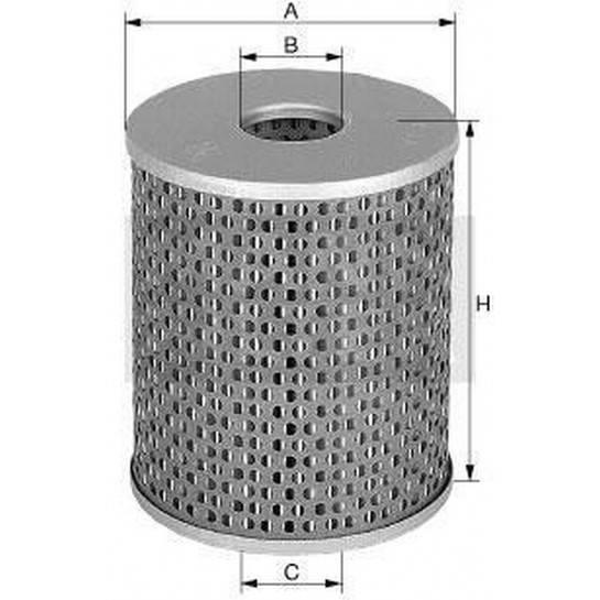 filter paliva mann P 725x