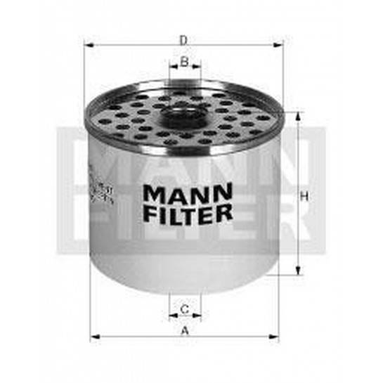 filter paliva mann P 945x