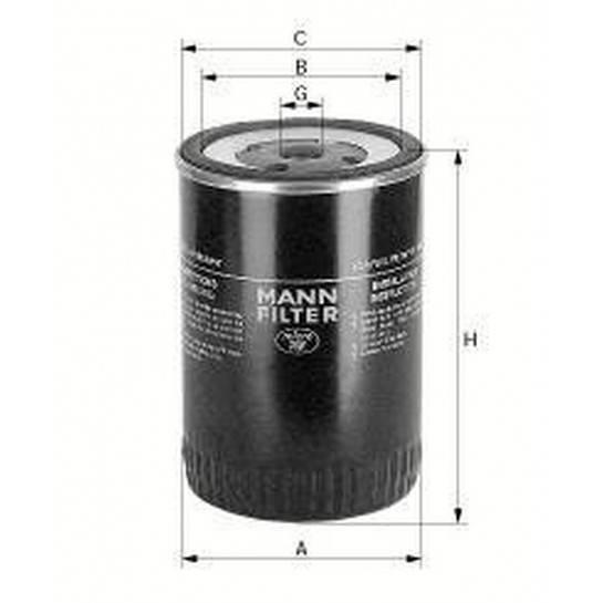 filter paliva mann WK 716 WK814/1