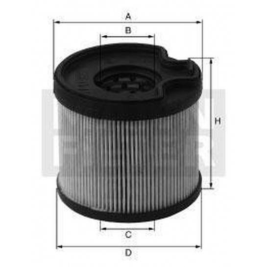 filter paliva mann PU 922x
