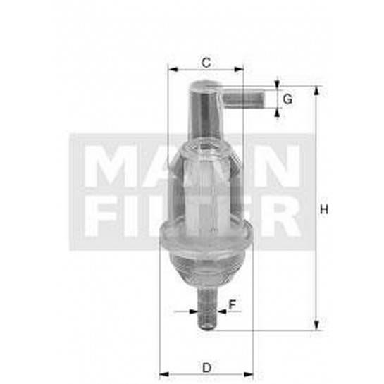 filter paliva mann WK 31/5