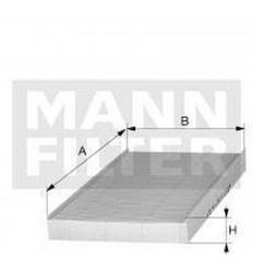 filter peľový mann CUK 2862