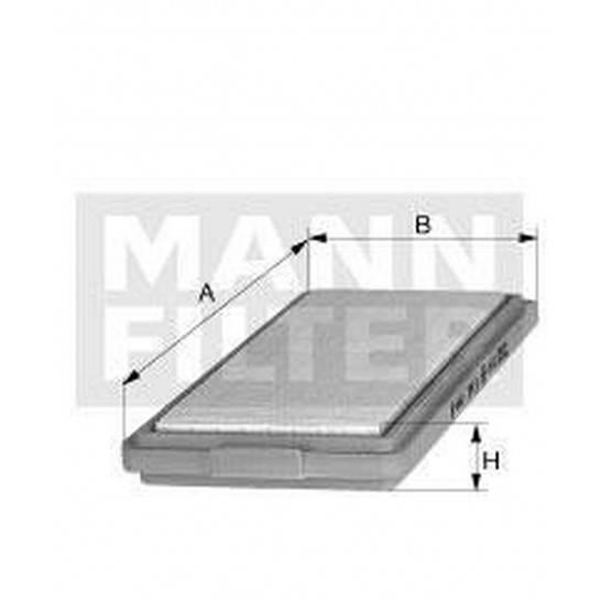 filter vzduchový mann C 2771