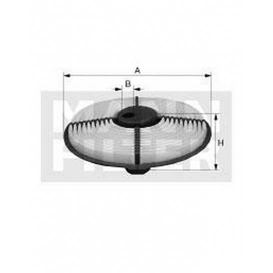 filter vzduchový mann C 2212