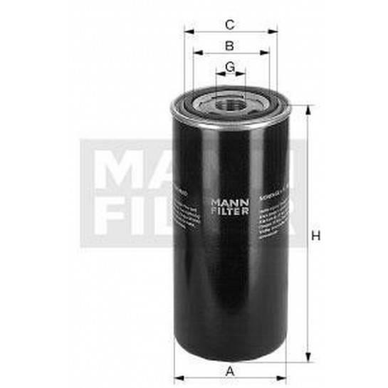 filter olejový mann WD 724/6 WD 724/3