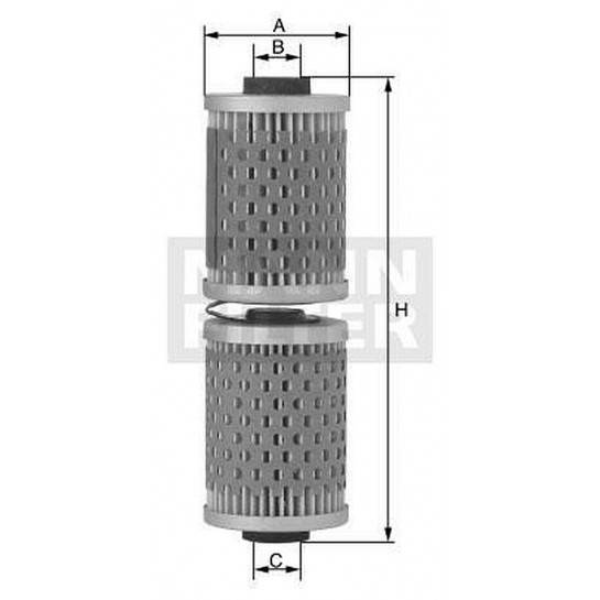 filter olejový mann MH 57