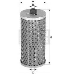 filter olejový mann MH 67