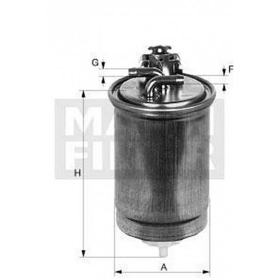 filter paliva mann WK 823