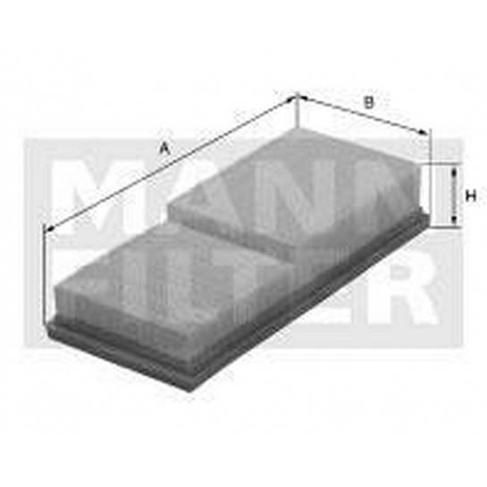 filter vzduchový mann C 30195/2