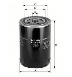 filter olejový mann W 77/2