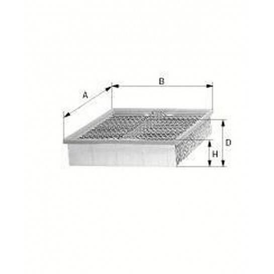 filter vzduchový mann C 3874