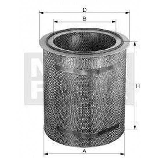 filter vzduchový mann C 571895