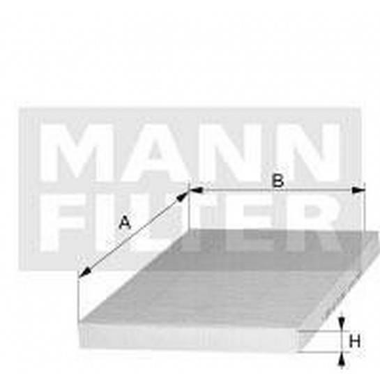 filter peľový mann CU 2338