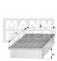 filter vzduchový mann C 24123/2