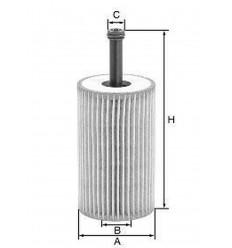 filter olejový mann HU 612x