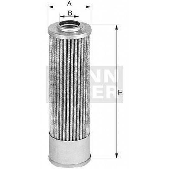 filter olejový mann MH 63/1