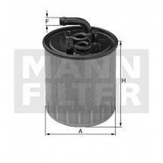 filter paliva mann WK 842/13