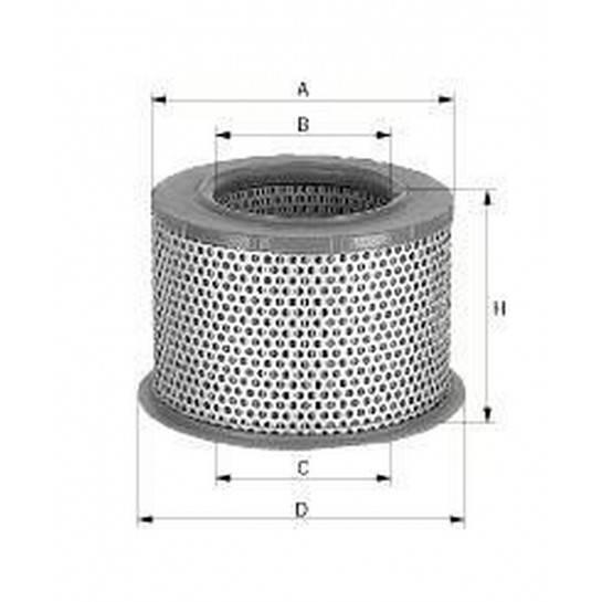 filter vzduchový mann C 23115