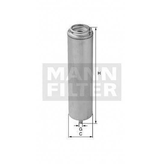 filter paliva mann WK 5001 náhrada za WK 519