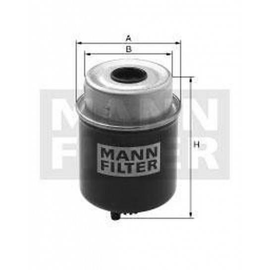 filter paliva mann WK 8137