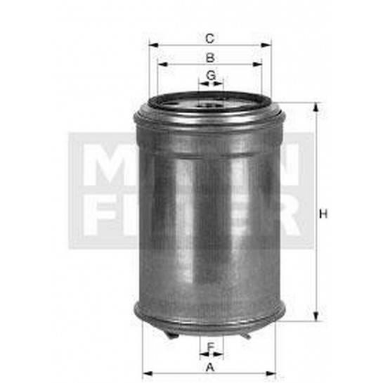 filter paliva mann WK 842/1