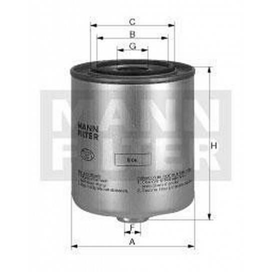 filter paliva mann WK 918x WK 918
