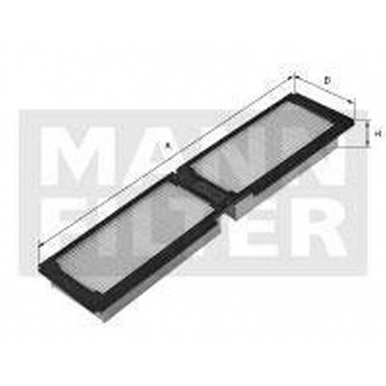filter peľový mann CU 4466