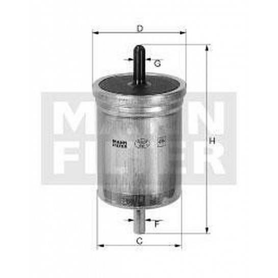 filter paliva mann WK 849