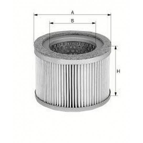 filter vzduchový mann C 75/2