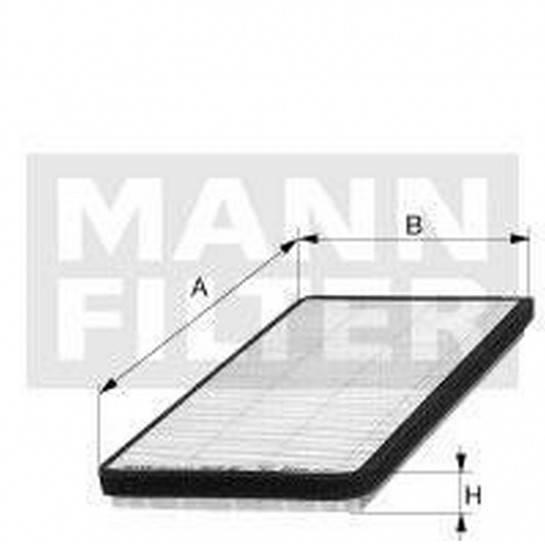 filter peľový mann CU 3340