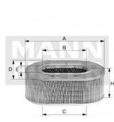 Vzduchový filter mann C 3338