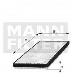 filter peľový mann CU 2224-2