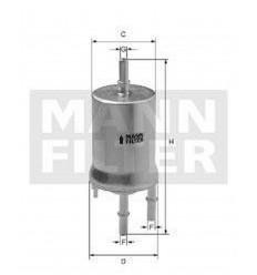 filter paliva mann WK 69