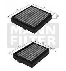filter peľový mann CU 21000-2
