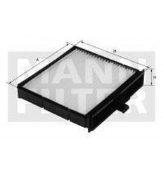filter peľový mann CU 22004
