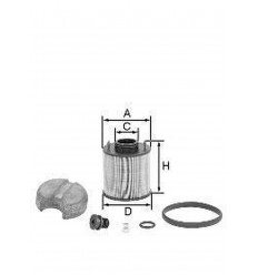 filter vzduchový mann U 620/4X U 620/4yKIT