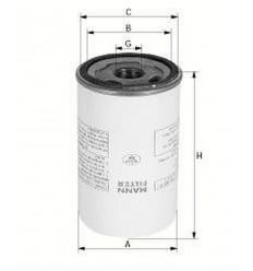 filter olejový mann LB 712/2