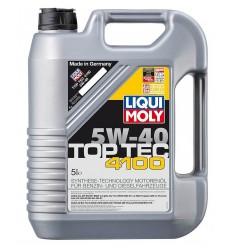 Liqui Moly MOT. OLEJ 5W-40 5L Top tec 4100