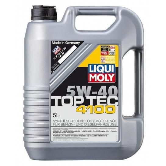 LM-MOT. OLEJ 5W-40 5L Top tec 4100