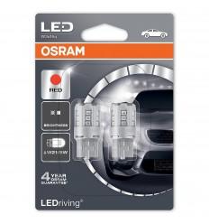 Osram 7715R-02B červená W21/5W Standard LED 2ks – blister