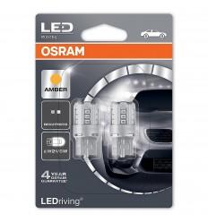 Osram 7715YE-02B Oranžová W21/5W Standard LED 2ks – blister