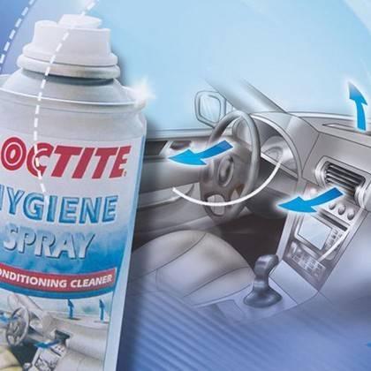 Spreje na čistenie a dezinfekciu klimatizácie
