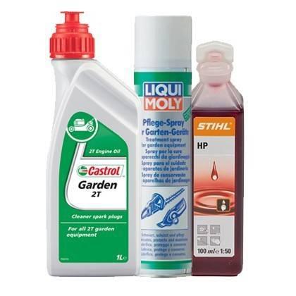 Záhradné oleje a mazivá