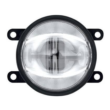 Hmlové svetlá namontované v DRL