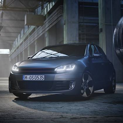 Osram VW Golf VII Full LED svetlomety pre halogénové svetlá