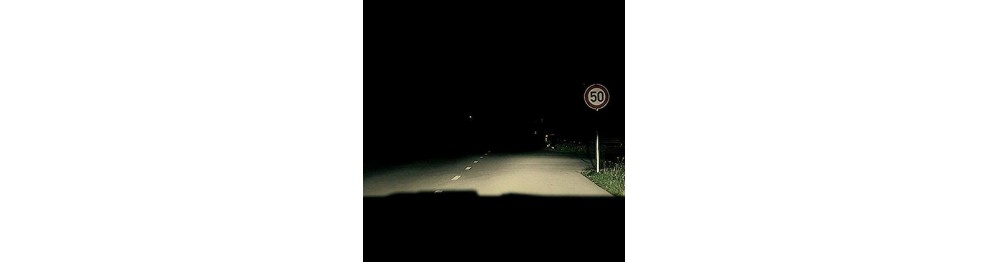 Off-Road vysokovýkonné svetlo H7 žiarovky
