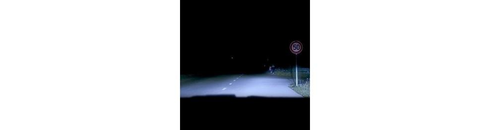 Off-Road vysoká farebná teplota svetla H4 žiarovky